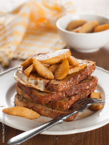 Tuinposter Brood French toast