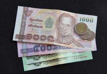 Thailand money banknote