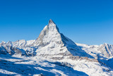 Fototapety View of Matterhorn on a clear sunny day