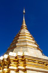 Golden pagoda,  Wat Phra That Doi Suthep