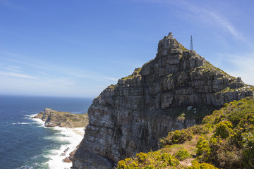 Cape Point rock face from Dias Point