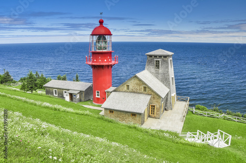 Pointe a la Renommee lighthouse, Quebec (Canada) - 75990288