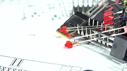 Electronic Components (loopable)