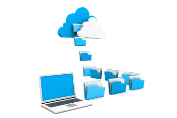 Cloud data sharing concept
