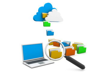 Searching cloud data share