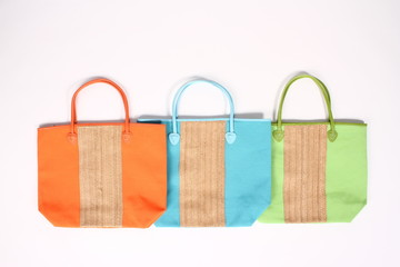 colorful bags shopping