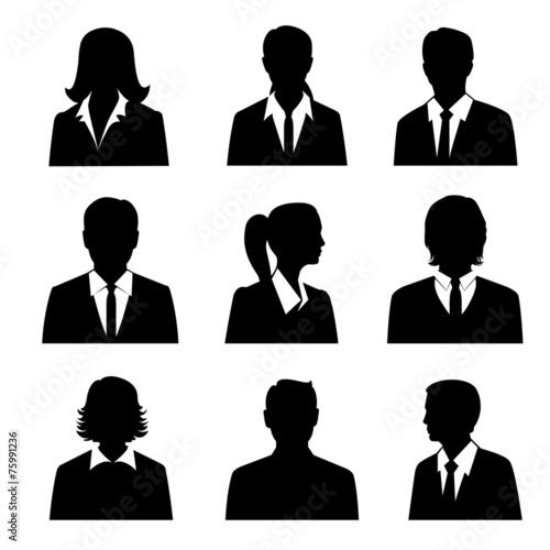 Business Avatars Set - 75991236