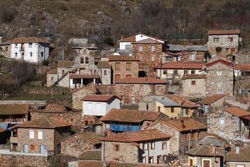 Pueblo de Correcillas, León.