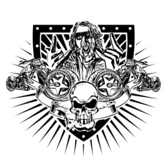 motorbike emblem