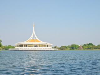 Ratchamangkhala Pavilion in The Suanluang RAMA IX public park