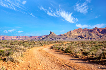 The Southwest landscape, Utah, US