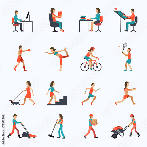 Physical Activity Icons