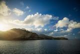 Sonnenaufgang bei Montserrat, Karibik