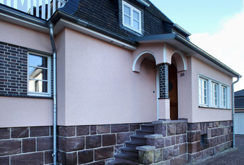 Eingang eines Hauses