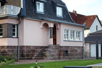 Eingang einer Villa
