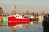 Popular lobster fishing village Alma on New Brunswick coast