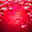 Obrazy na płótnie, fototapety, zdjęcia, fotoobrazy drukowane : Valentine's Day greeting card