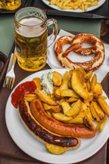 octoberfest birra bretzel