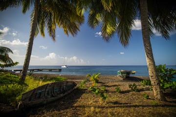 Strand auf Dominica, Karibik