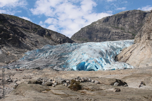 Foto op Plexiglas Gletsjers Nigardsbreen is a glacier in Norway.