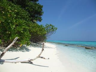 spiaggia maldiviana
