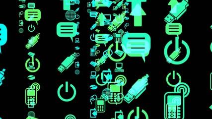 Communication Icon Stream