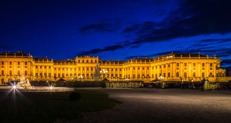 Christmas at Schoenbrunn