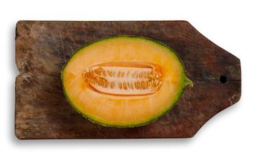 Slice of melon.