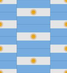 Argentina flag texture vector