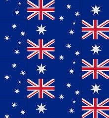 Australia flag texture vector