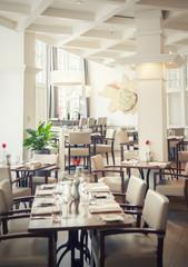 Tables in dutch restaurant