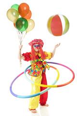 Crazy, Coordinated Clown