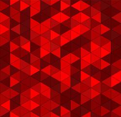 Seamless vector deep red wine triangular pattern