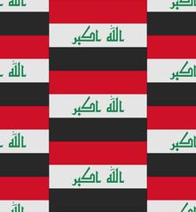 Iraq flag texture vector