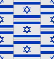 Israel flag texture vector