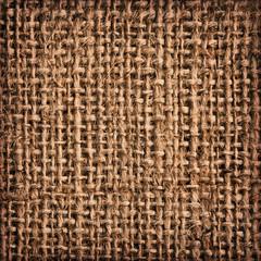 Burlap Canvas Coarse Vignette Grunge Texture Detail