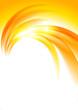 Abstract sunny orange background