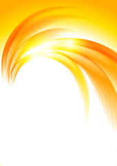 Abstract sunny orange background