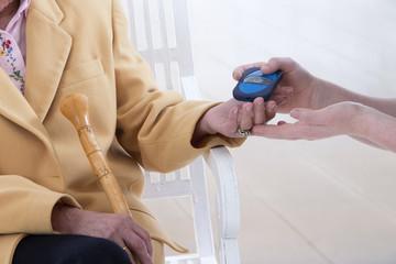 Test de Glycemie senior