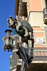 Chinese dragon from the House of Umbrellas, Barcelona