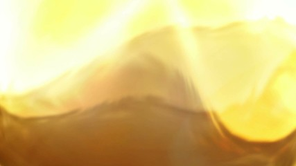 Abstract gold animation background