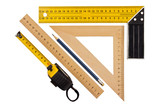 Fototapety Measuring the angle and length
