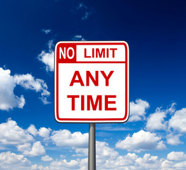 no limit anytime with sky