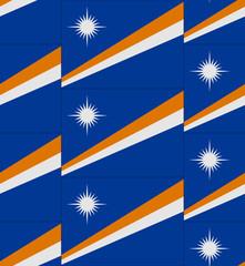 Marshall flag texture vector