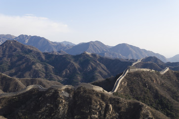 Badaling Great Wall in Yanqing County Beijing China Ming Dynasty
