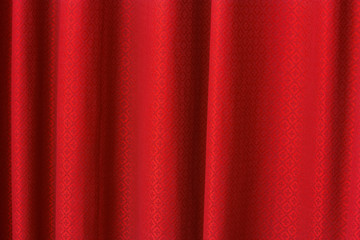 red curtain texture background