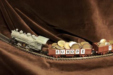 Wagons of money