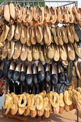 European peasant footwear