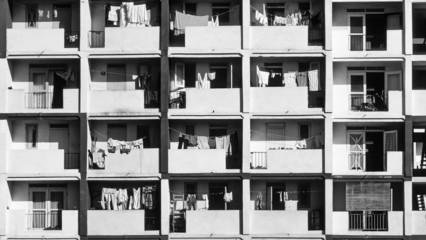 CUBA, Havana, old building facade - FILM SCAN