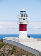 Ortegal lighthouse in Galicia, Spain.